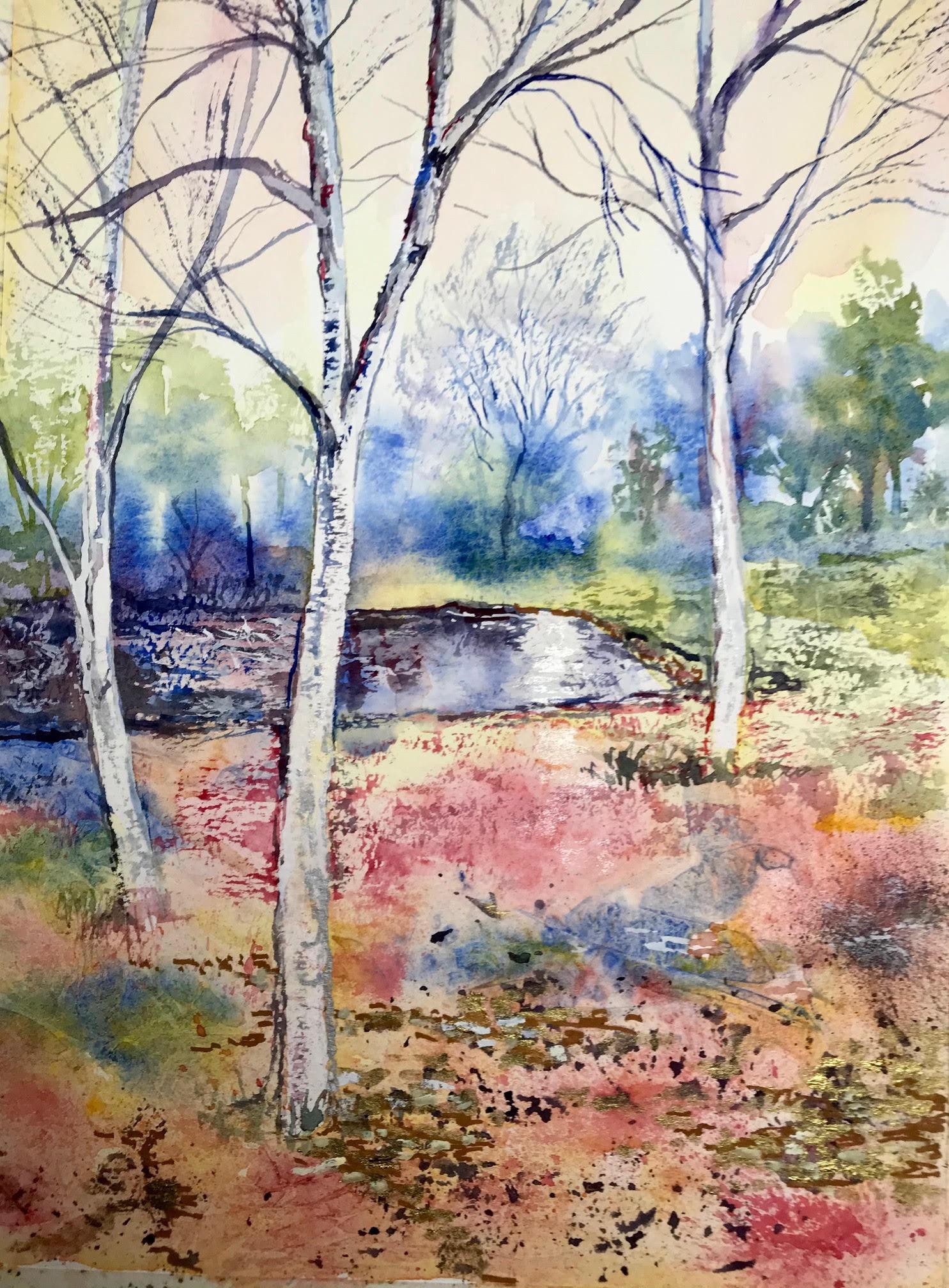 3 Birch Trees