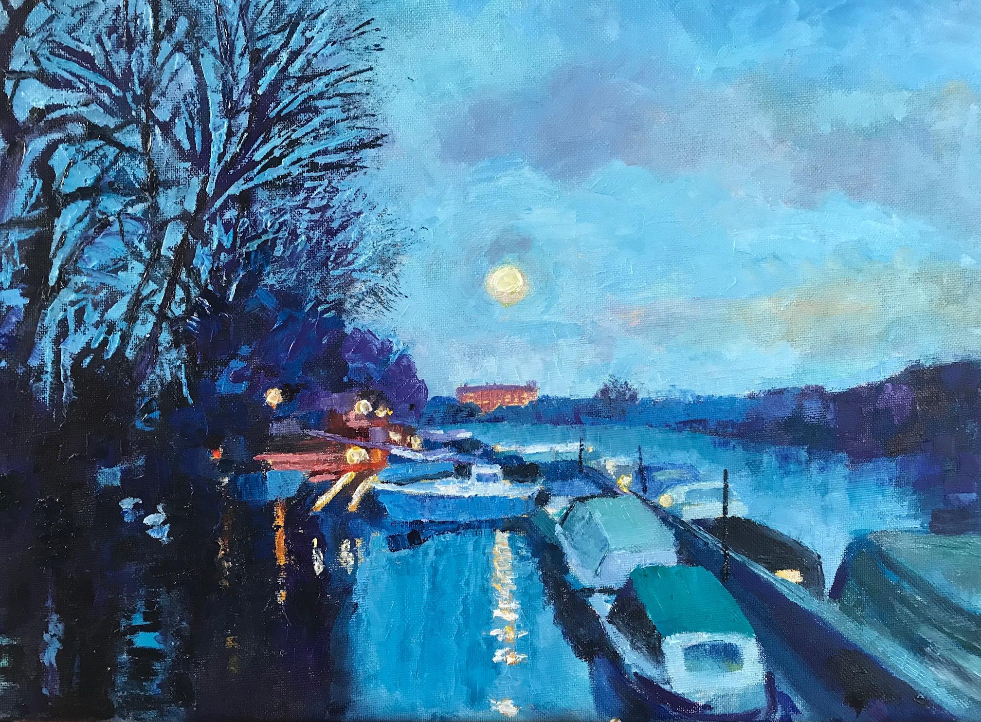 Evening Twickenham Riverside