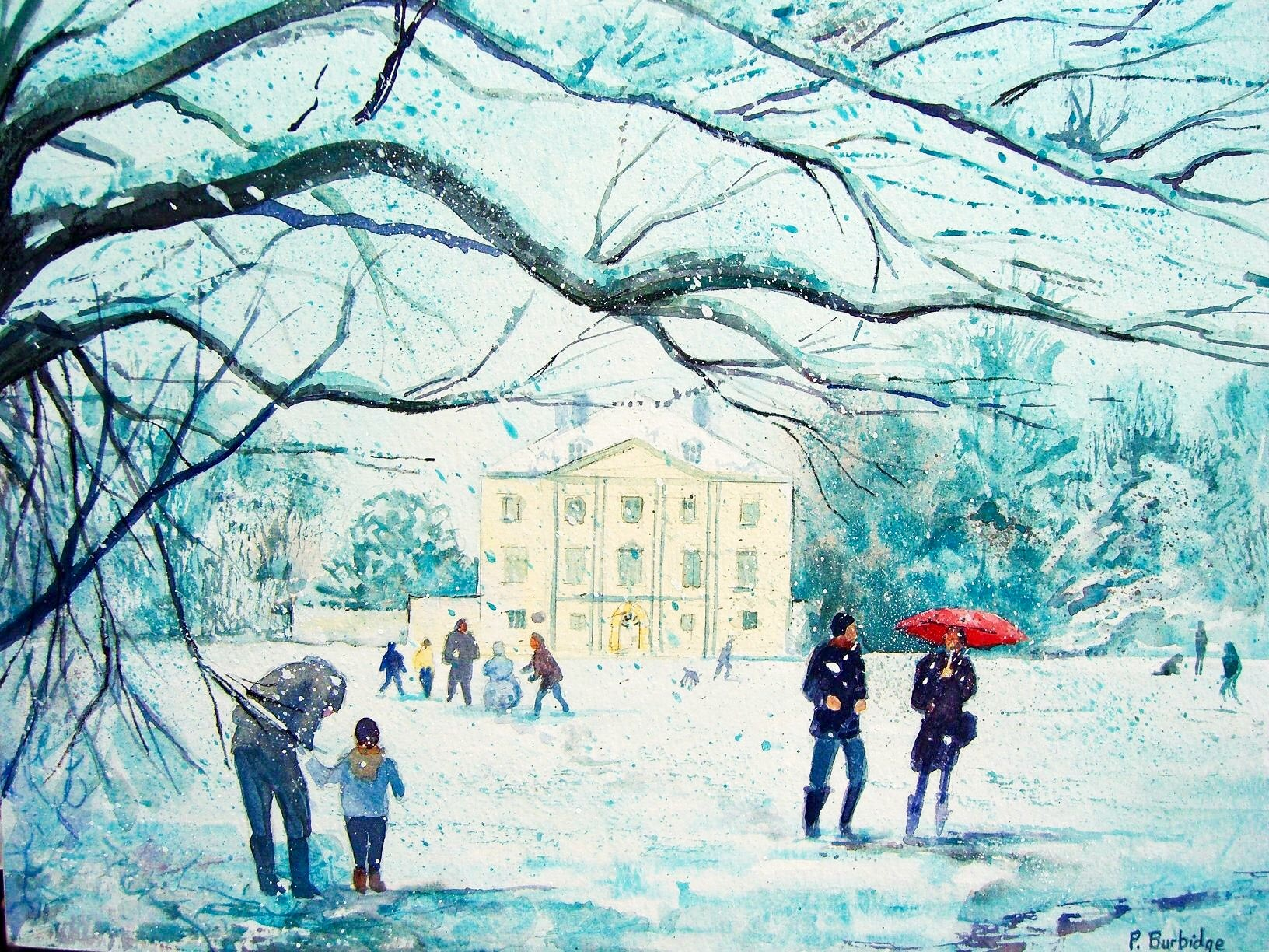 Snow Marble Hill Park. Sold