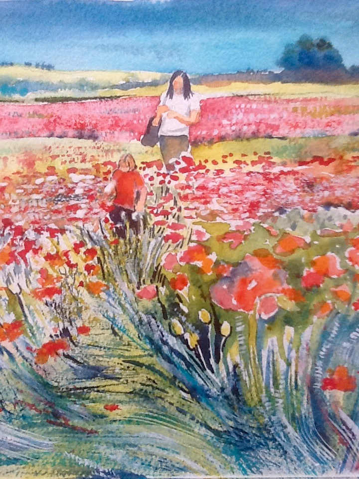 Walk in the Poppies