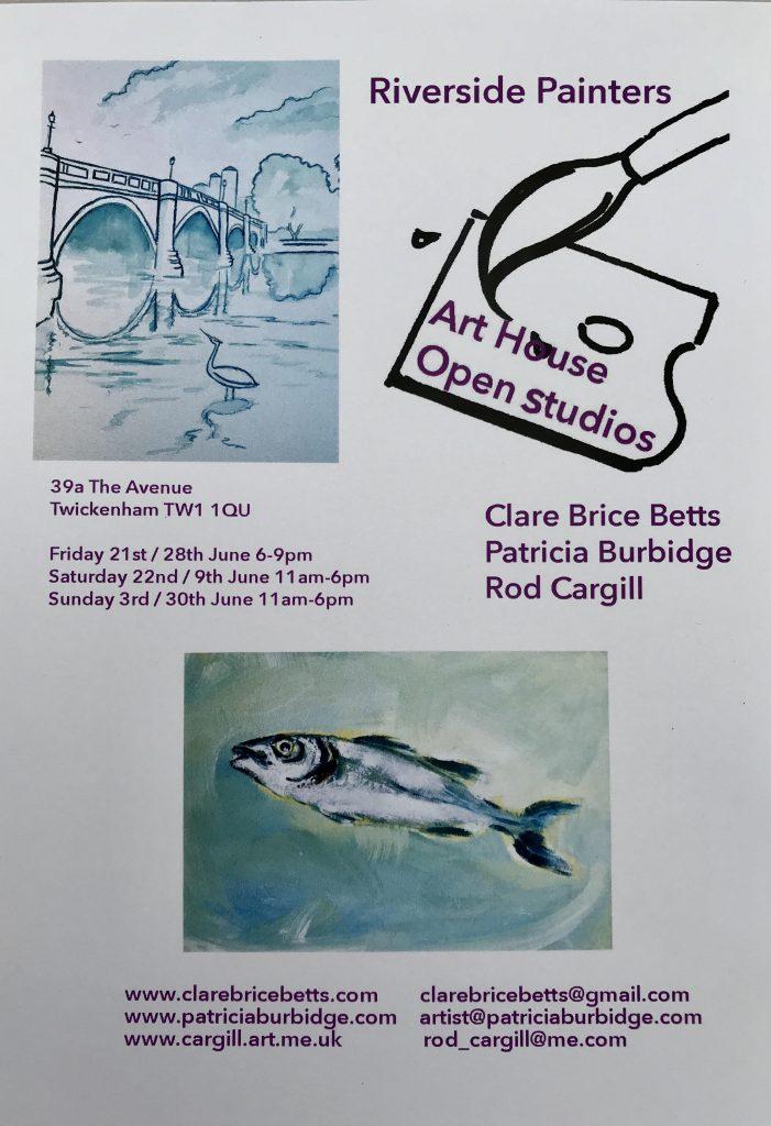 Riverside Painters Art House Open Studios
